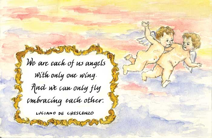 quotes about angels. Angels with One Wing